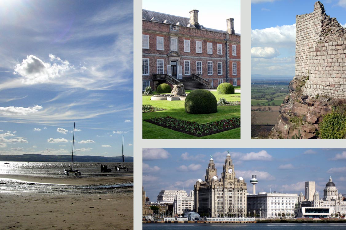Photomontage: day trips from Chester