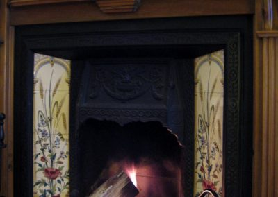 Photo: Make it more cosy with a log fire