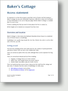 Access statement PDF
