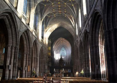 Photo: Chester Cathedral nave