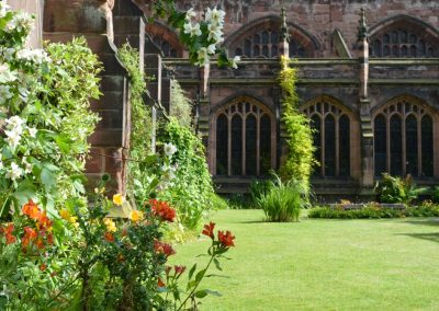 Photo: The cathedral cloister gardens