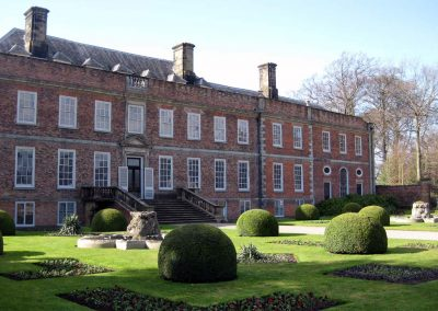 Erddig house and gardens near Wrexham