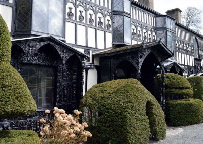 Plas Newydd house and gardens in Llangollen