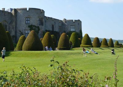 Chirk castle and gardens