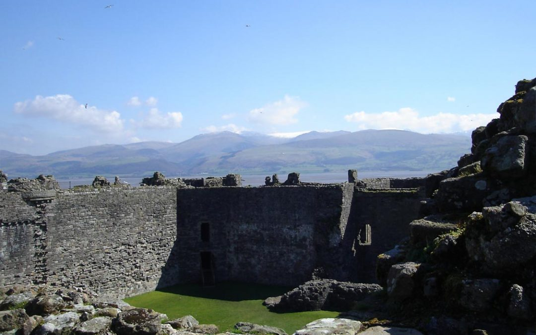Photo: Beaumaris castle on Anglesey