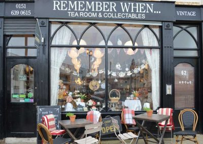 Photo: 'Remember When' tea rooms at New Brighton