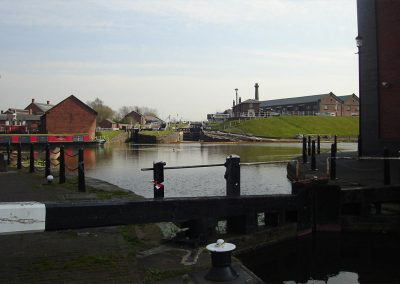 Photo: The National Waterways Museum on the Shropshire Union Canal