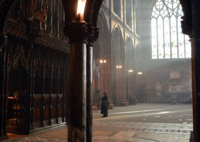 Photo: Inside Chester cathedral