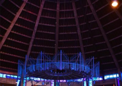 Inside Liverpool Metropolitan cathedral
