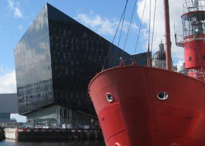 Liverpool's revitalised Albert Dock area