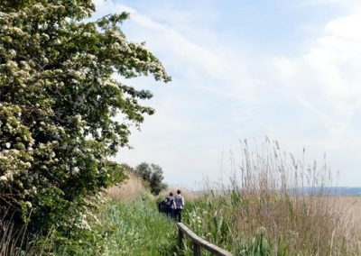 Photo: Walking from Parkgate to Little Neston