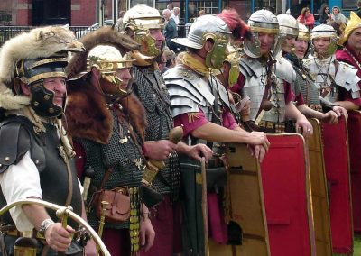 Re-creating Chester's Roman history