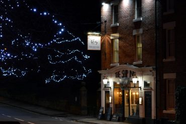 Photo: The Ship Inn at Christmas