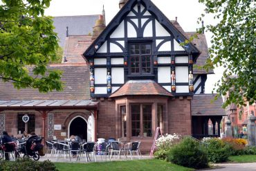 Photo: The Lodge cafe in Grosvenor Park, Chester