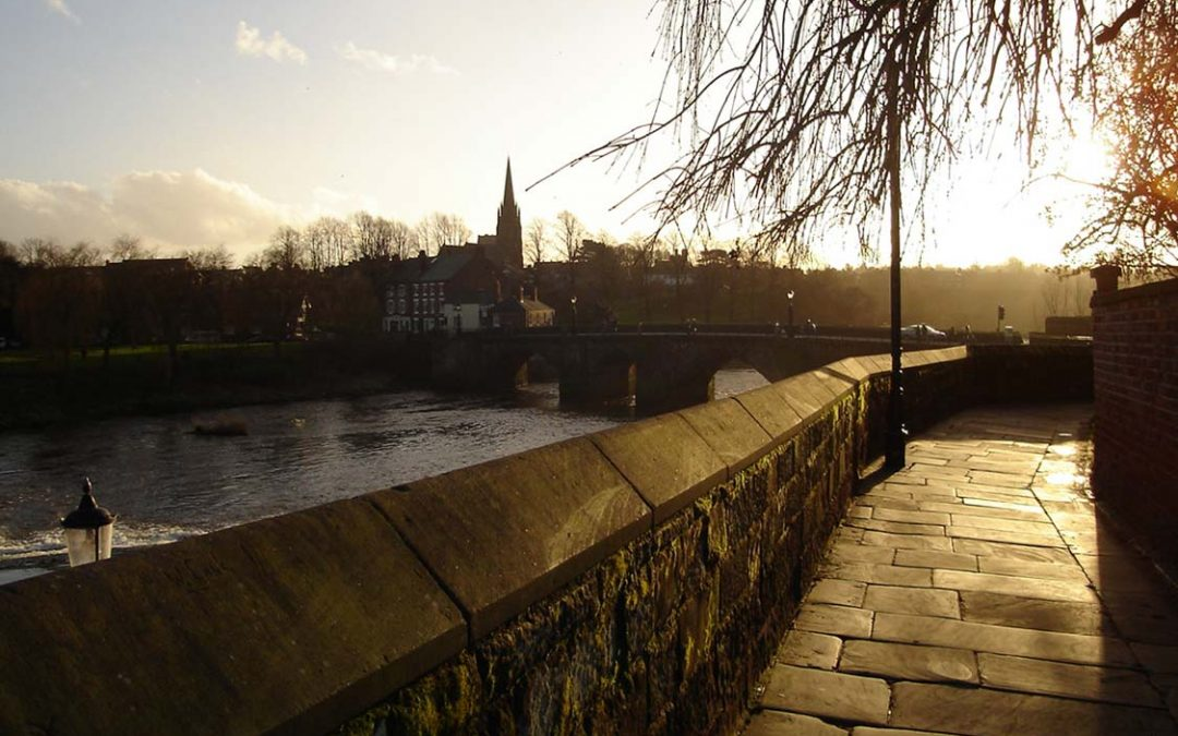 A walk around Chester city walls