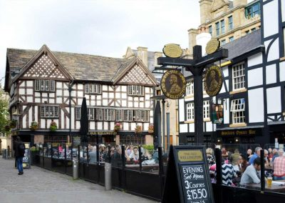 The Old Wellington Pub at Cathedral Gates