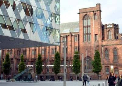 The John Rylands Library building
