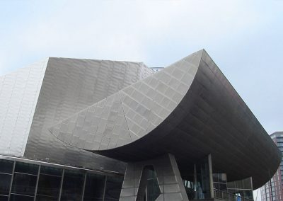 Photo: The Lowry Centre at Salford Quays