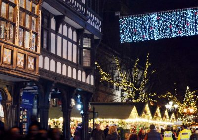 The Chester Christmas market